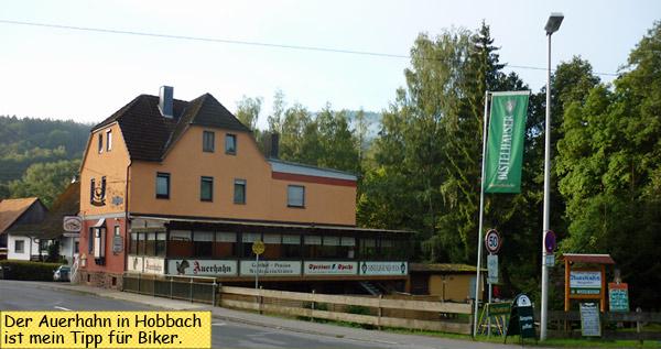 Auerhahn in Eschau Hobbach Neuhammer